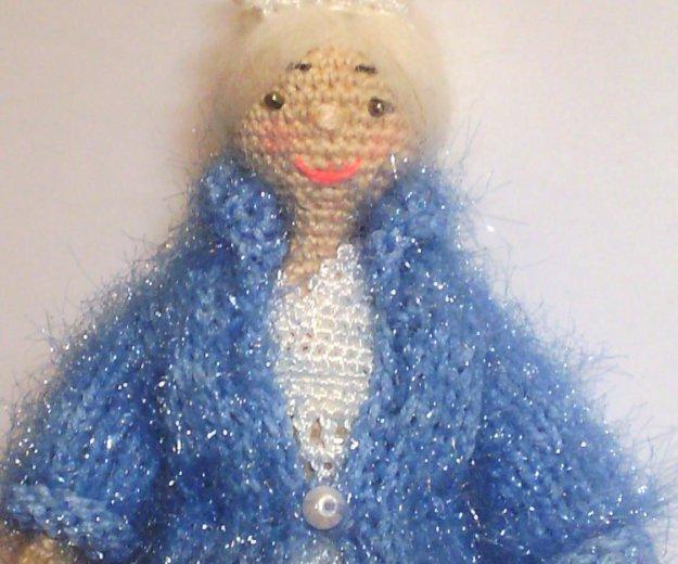 Куколка амигуруми. снегурочка. Фото 1. Дмитров.