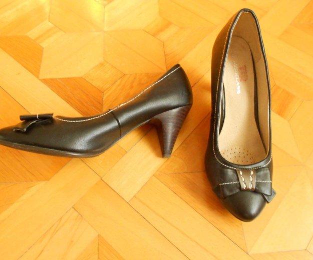 Кожаные туфли. Фото 2. Геленджик.