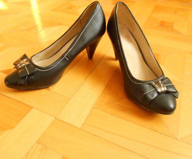 Кожаные туфли. Фото 1. Геленджик.