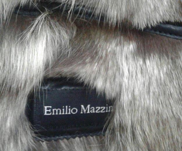 Зимняя кожанная куртка. Фото 1. Москва.