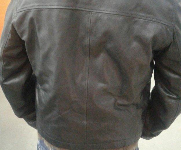 Зимняя кожанная куртка. Фото 3. Москва.