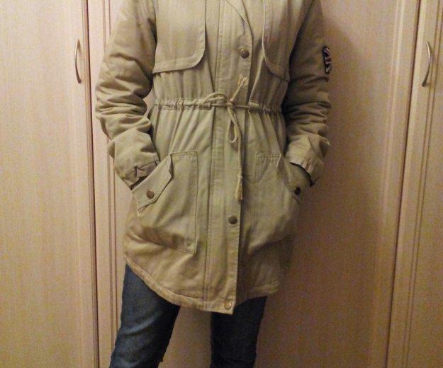 Куртка-парка женская, подростковая. Фото 1. Львовский.