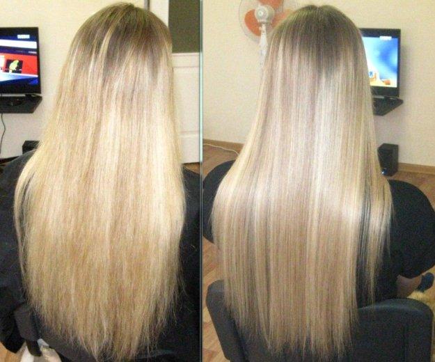 Кератиновое выпрямление волос. Фото 1. Серов.