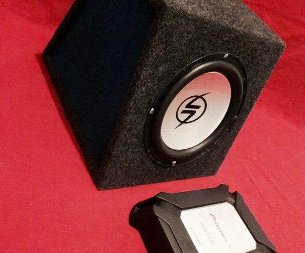 Компактный комплект баса. lighting audio & pioneer. Фото 4. Казань.