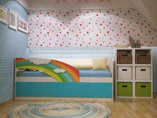 Кровать дельфин фотопечать. Фото 1. Подольск.