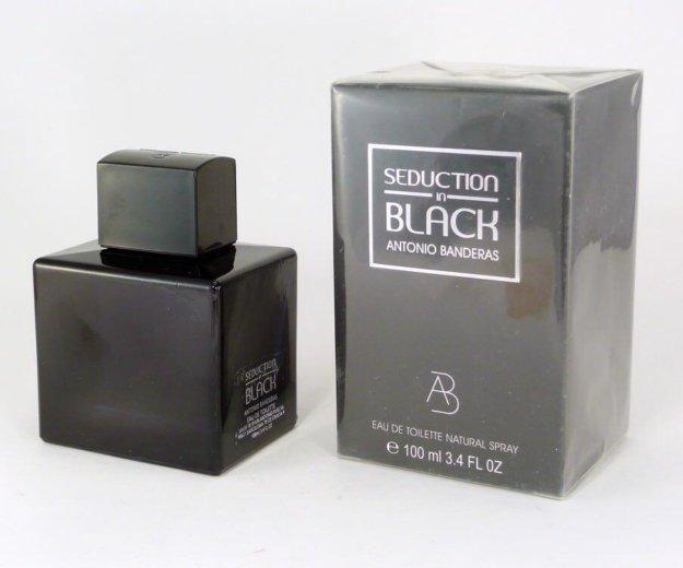 Antonio banderas - seduction in black - 100 ml. Фото 1. Копейск.