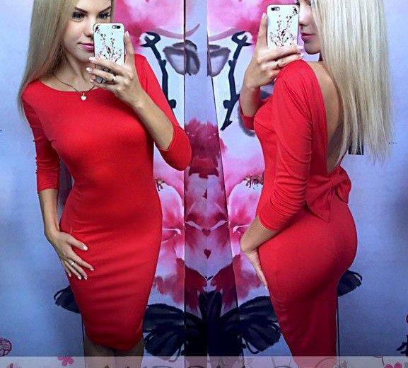 Платье с бантом новое. Фото 1. Казань.