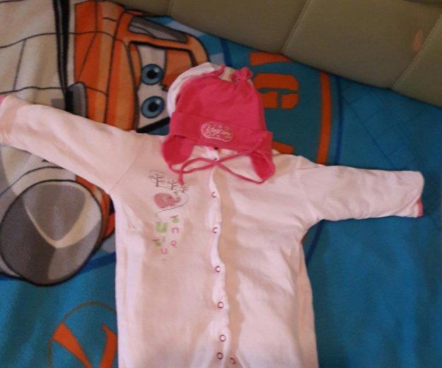 Пакет вещей на девочку от3 до 6месяцев. Фото 4. Таганрог.