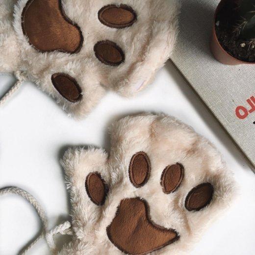 Перчатки без пальцев лапки новые. Фото 1. Москва.