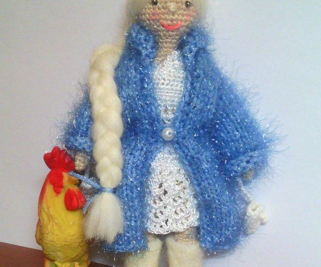Куколка амигуруми. снегурочка. Фото 2. Дмитров.