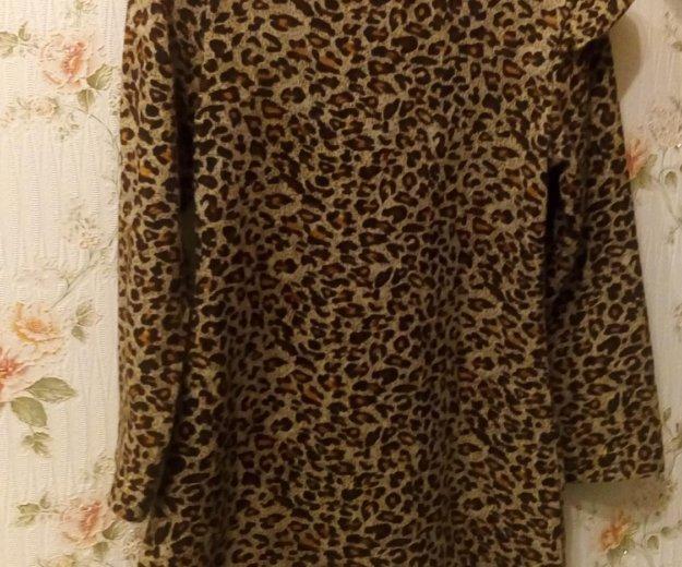 Платье леопард. Фото 1. Ростов-на-Дону.