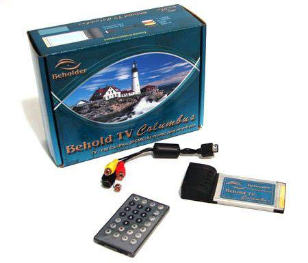 Tv тюнер для ноутбука behold tv columbus pcmcia. Фото 1. Подольск.