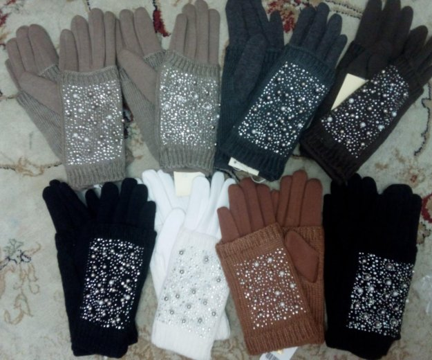 Перчатки тёплые. Фото 1. Железнодорожный.