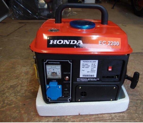 Бензиновый электрогенератор бензоагрегат honda. Фото 2. Краснодар.