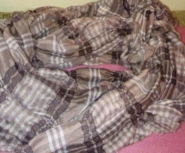 Оочень длинный шарф. Фото 1. Ревда.