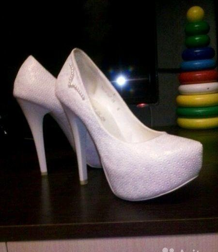 Свадебные туфельки. Фото 2. Руэм.