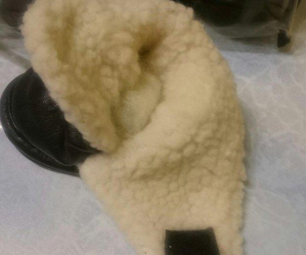 Ботинки для собак. кожа-зима. размер 4. Фото 2. Москва.
