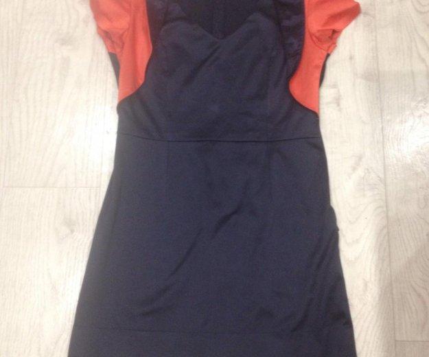 Платье атласное. Фото 4. Волжский.