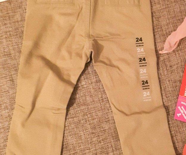 Новые брюки-чиносы для мальчика на 2 годика. Фото 2. Москва.