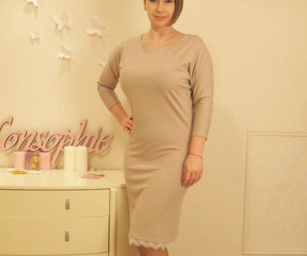 Платье с кружевом. Фото 1. Москва.