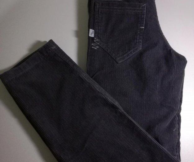 Вельветовые джинсы на подкладе новые р. 134. Фото 1. Москва.