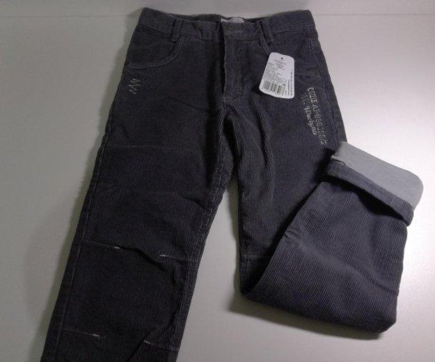 Вельветовые джинсы на подкладе новые р. 134. Фото 2. Москва.