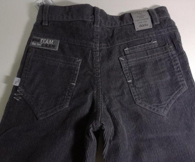 Вельветовые джинсы на подкладе новые р. 134. Фото 3. Москва.