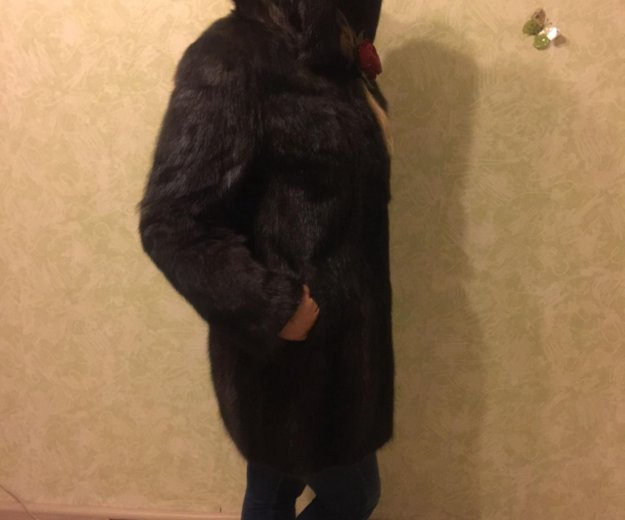 Шуба норковая  44 размер. Фото 2. Москва.