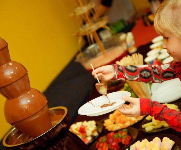 Шоколадный фонтан. Фото 1. Сертолово.