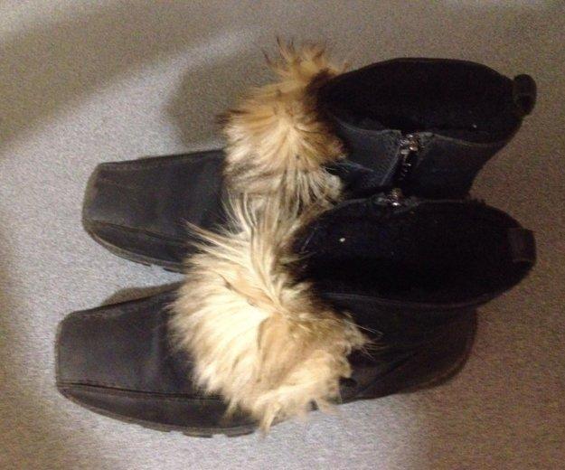 Ботинки зимние. Фото 1. Щёлково.