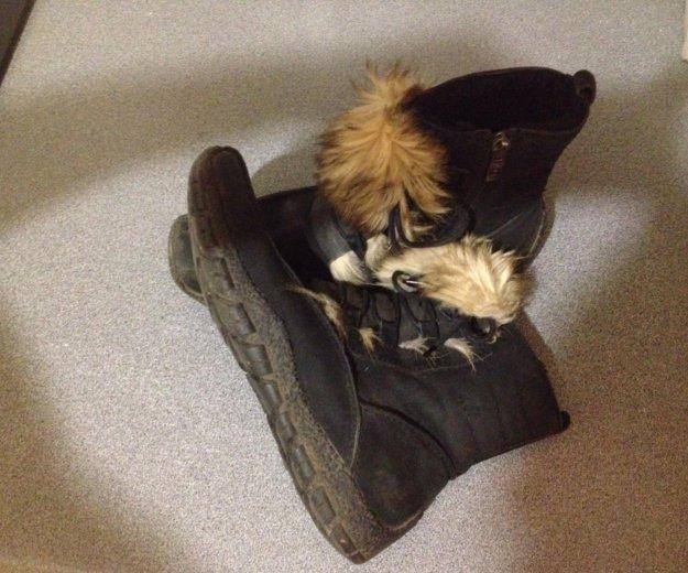 Ботинки зимние. Фото 3. Щёлково.