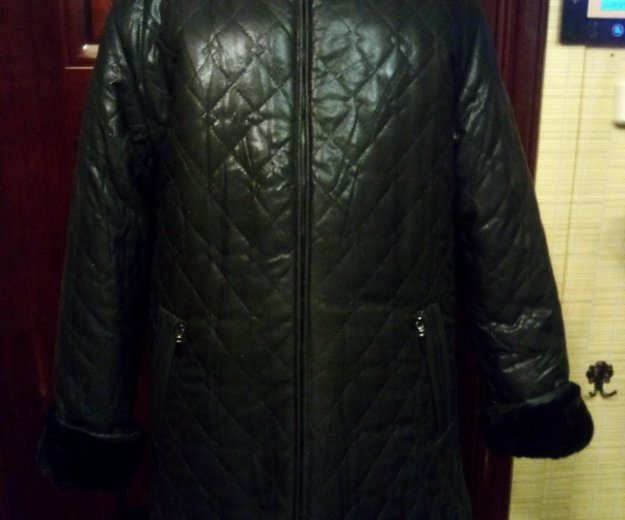 Куртка двухстороняя черная. Фото 1. Королев.