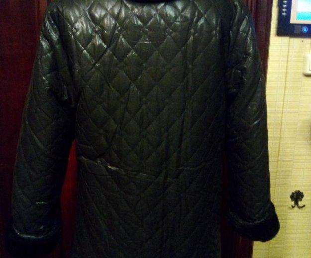 Куртка двухстороняя черная. Фото 2. Королев.