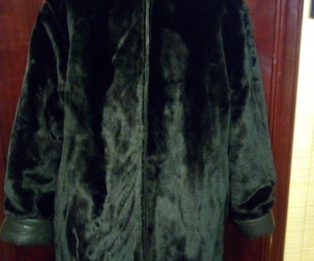 Куртка двухстороняя черная. Фото 3. Королев.