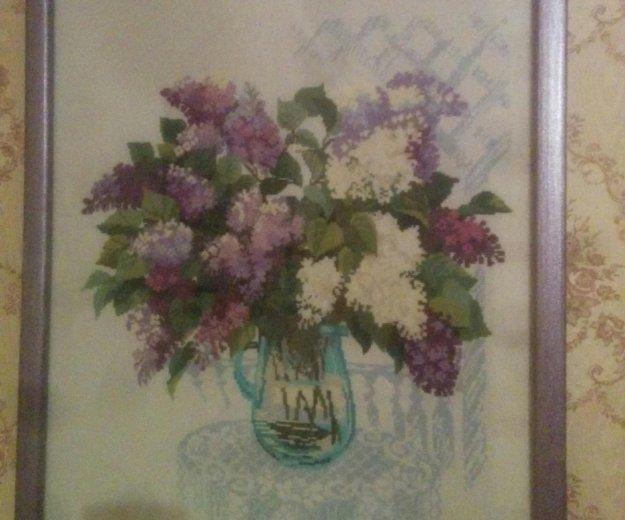 Сирень в вазе. Фото 1.