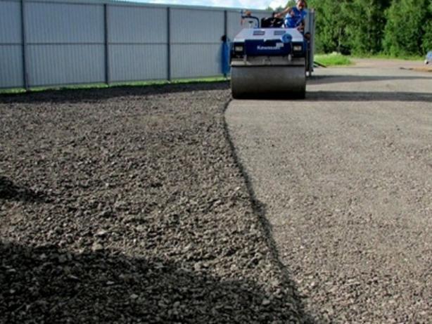 Асфальтная крошка песок щебень. Фото 1. Москва.