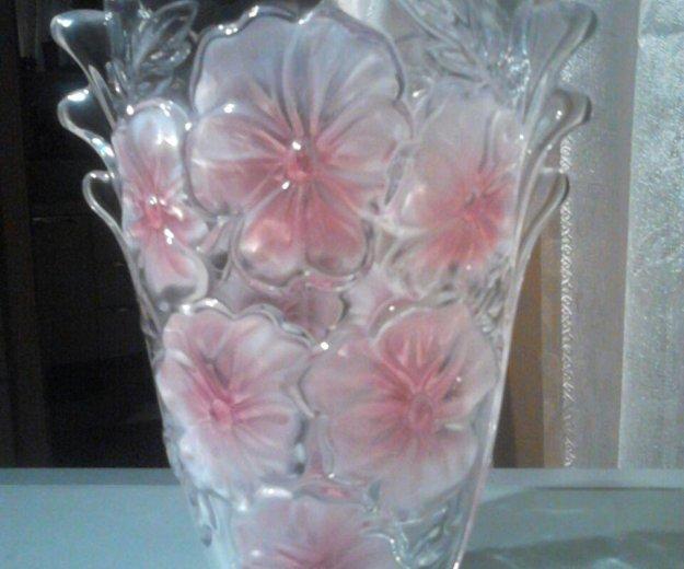 Хрустальные вазы большие. Фото 1. Москва.