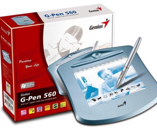 Графический планшет genius g-pen 560. Фото 1. Воткинск.