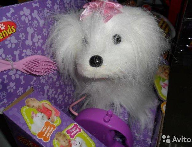 Интерактивный щенок. Фото 4. Подольск.
