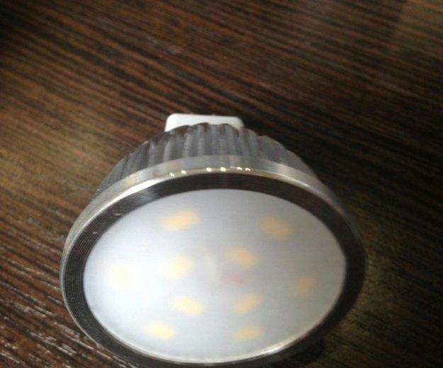 Лампа gu 5.3 warm white 5w. Фото 1. Москва.