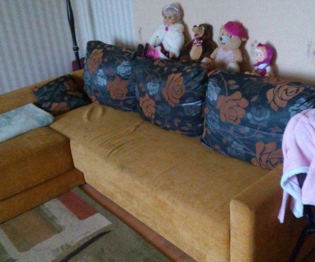 Угловой диван в хорошем состоянии. Фото 2. Калининград.