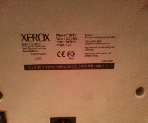 Принтер xerox phaser 3210. Фото 2. Астрахань.