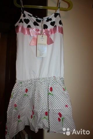 Новый комплект платье с лосинами. Фото 1. Москва.