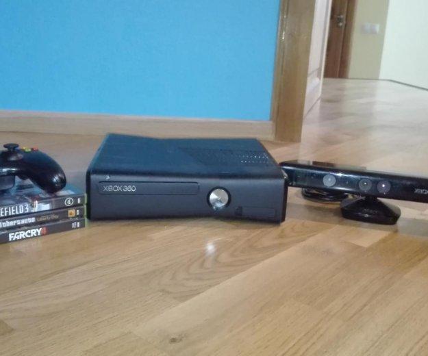 Xbox 360 c kinect , xbox live и играми. Фото 1. Малаховка.