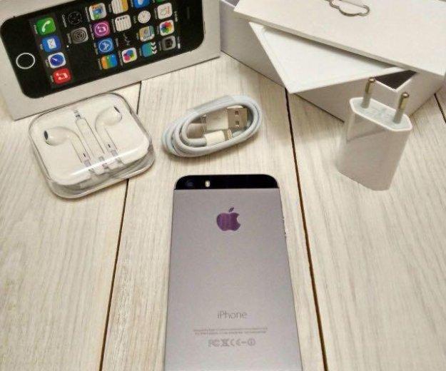 Iphone 5s 16gb рст на комплекте. Фото 1. Новосибирск.