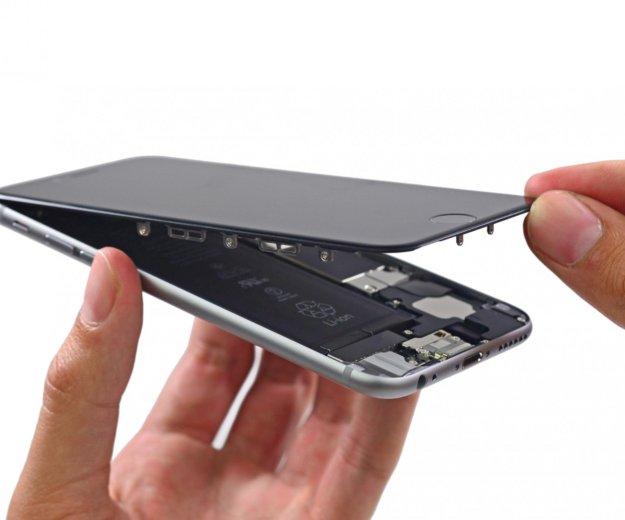 Замена экрана iphone aйфон 6. Фото 3. Лобня.