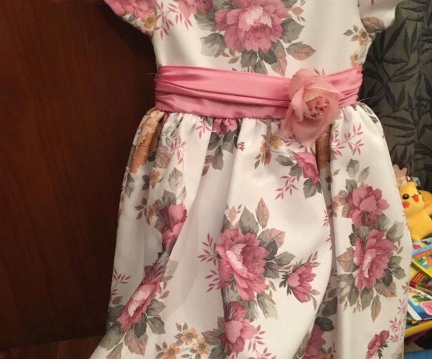 Праздничное платье для девочки. Фото 3. Москва.