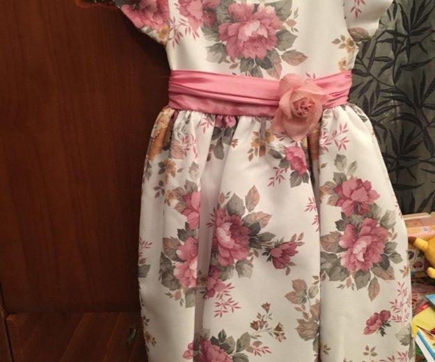 Праздничное платье для девочки. Фото 4. Москва.
