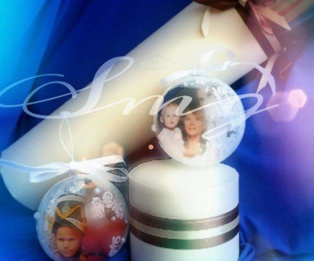Новогодние шары, игрушки ручной работы. Фото 1. Мурино.
