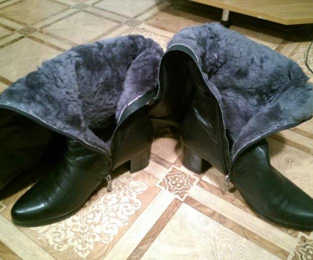 Кожаные сапоги. Фото 1. Шахты.